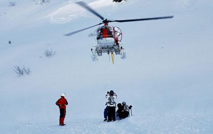 heli-ski arlberg